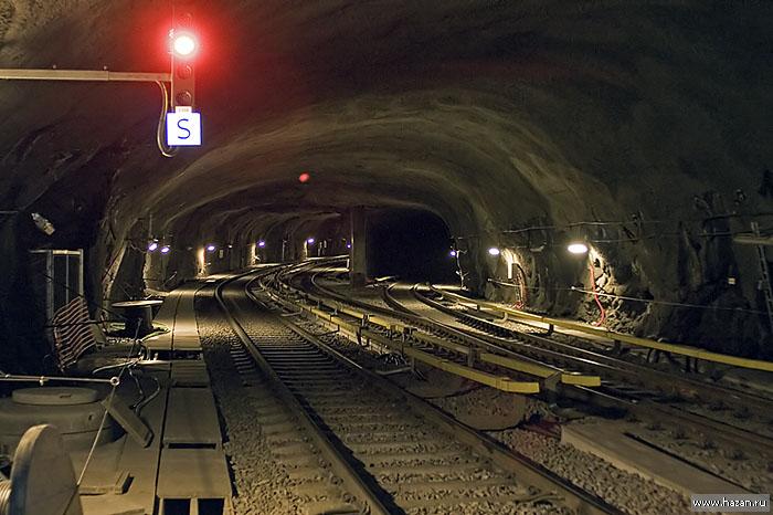 В этом метро на платформах
